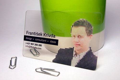 18_Plastic Business Cards