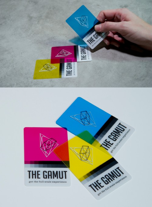 18_THE GAMUT Business Cards