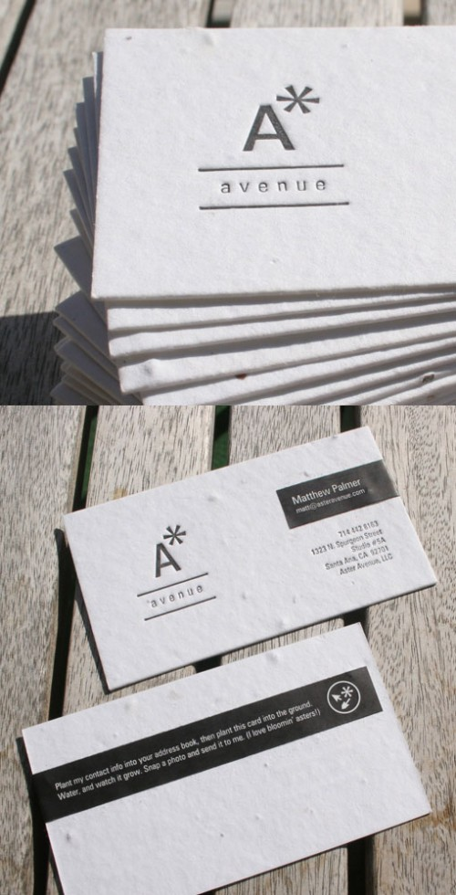 19_Seed Paper Business Cards