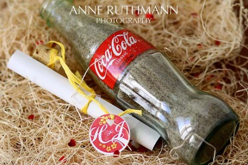 20_Message In A Bottle Wedding Invitation