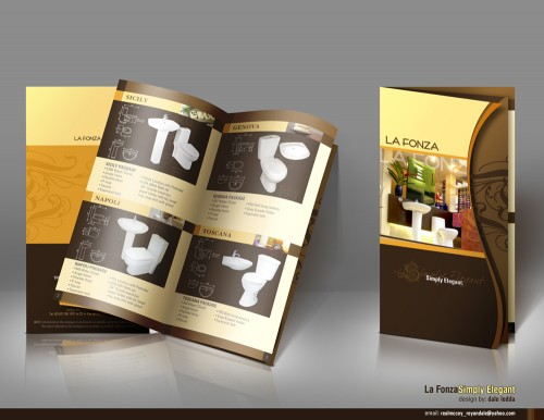 hotel brochure design inspiration - 40 colorful brochure designs for inspiration designcanyon