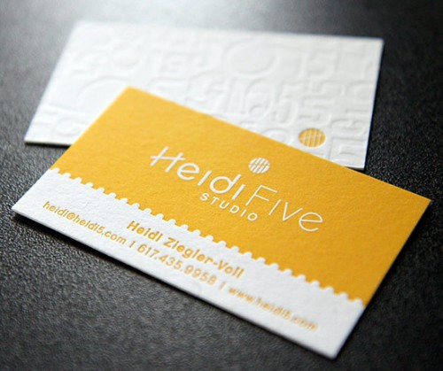 21_Heidi Five Business Card