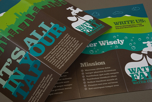 22_Graphic Water Company Brochure