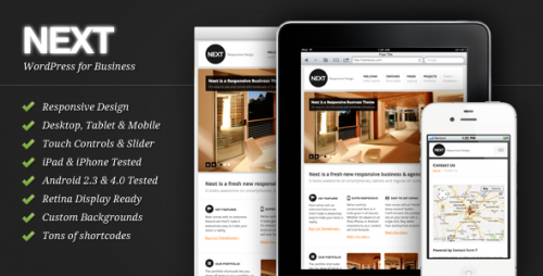 22_Next - Responsive Business WordPress Theme