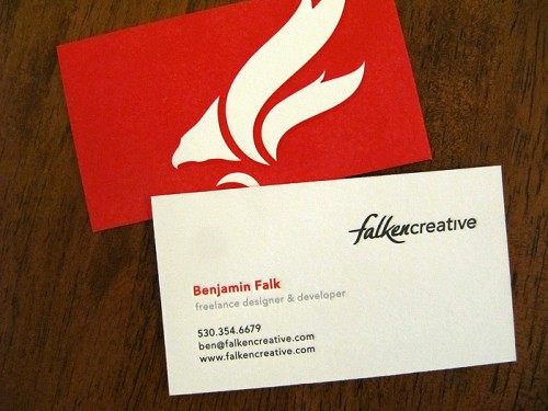 24_Letterpressed Business Cards
