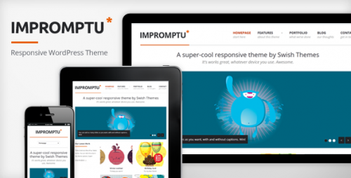 25_Impromptu - Responsive WordPress Theme