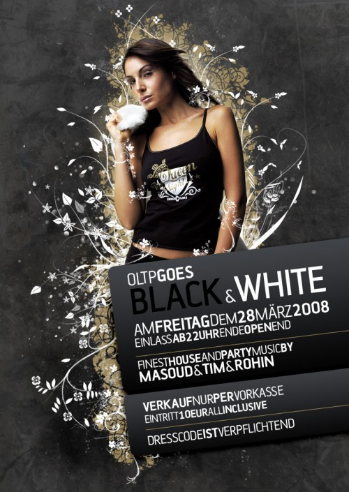 26_Black and White Flyer