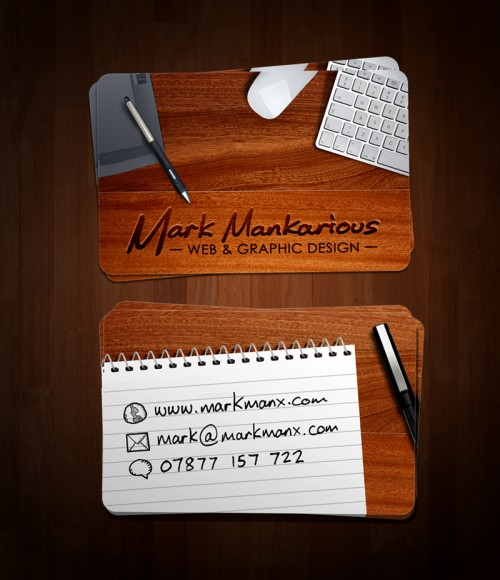 26_Mark Mankarious Business Card