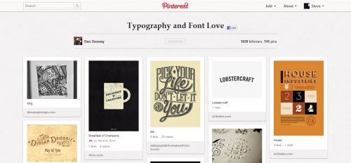 27_Typography and Font Love by Dan Denney