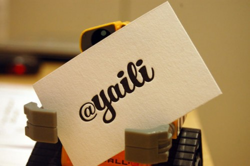 28_Letterpress Business Cards