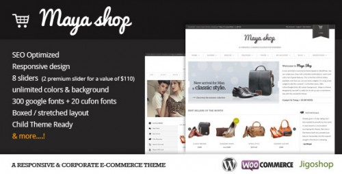 28_MayaShop - A Flexible Responsive e-Commerce Theme