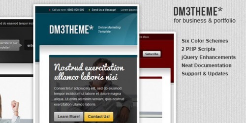 29_DM3THEME - 6in1 Services Marketing Template