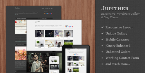 29_Jupither - Responsive Wordpress Gallery &amp; Blog