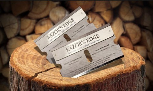 29_Razor's Edge Business Card