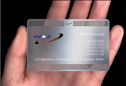 2_Metal Business Card