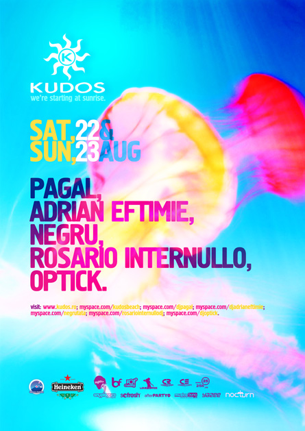 2_Posters & Flyers Designed for Kudos Beach