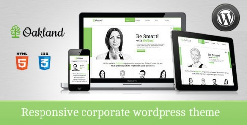 30_Oakland - Premium Responsive WordPress Theme