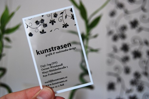 32_Kunstrasen Graphic Design Businesscard