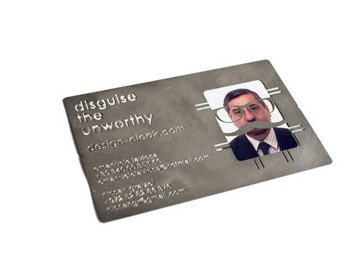 33_Business Card for Disguise the Unworthy