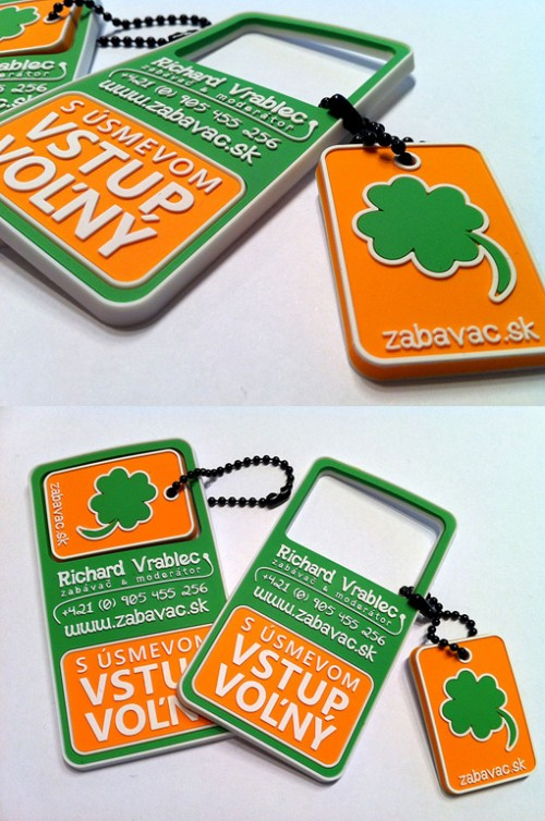 35_Clover Leaf Business Card