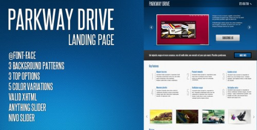 35_Parkway Drive - Landing Page