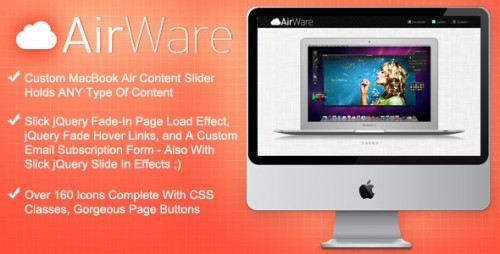 37_AirWare Mac App Website Template