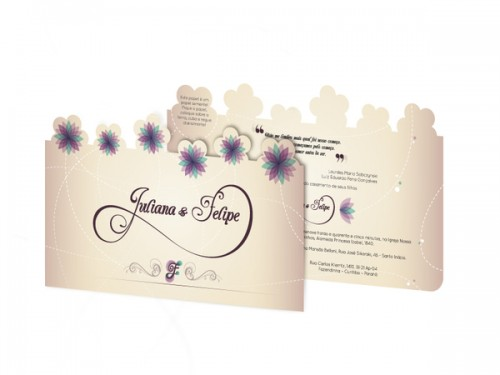 3_Spring Weeding Invitation