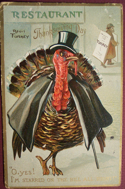 3_Vintage Thanksgiving Postcard