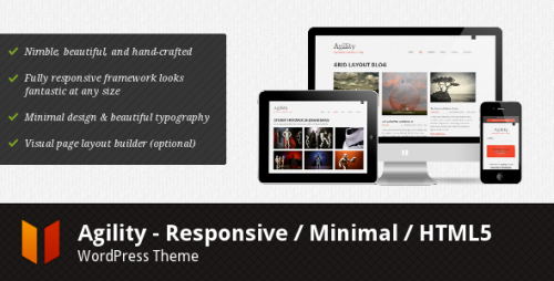 4_Agility - Responsive HTML5 WordPress Theme