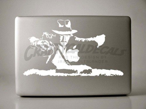 4_Indiana Jones Sticker Design