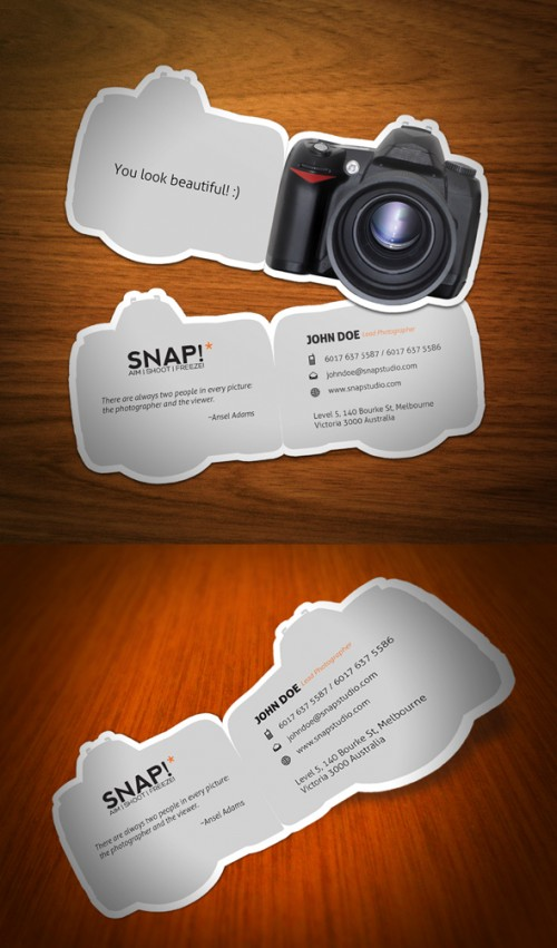 4_SNAP Business Card