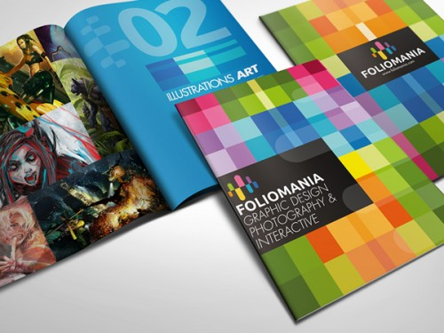5_Foliomania The Designer Portfolio Brochure