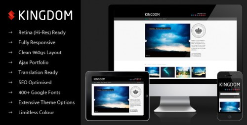 5_Kingdom - Retina Responsive Portfolio WP Theme
