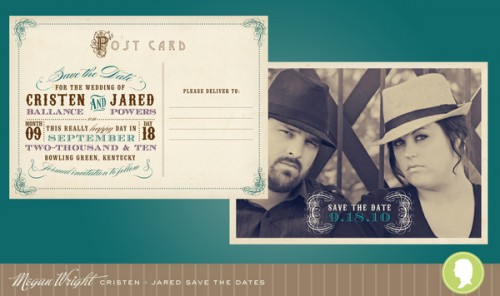 5_Vintage Postcard Save-the-Dates