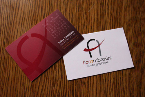 6_Flora Ambrosini Business Card