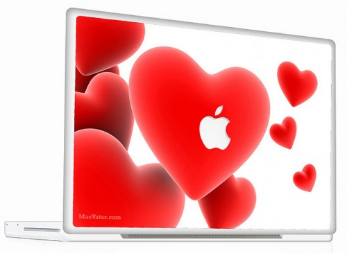 6_Macbook Skin Heart Cell