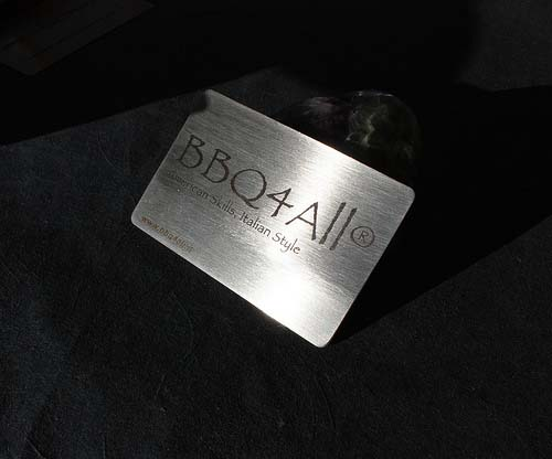 6_Metal Steel Business Cards