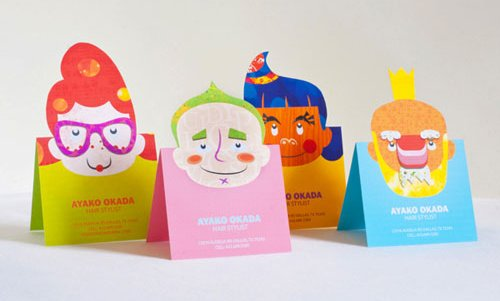 6_Popup Business Cards