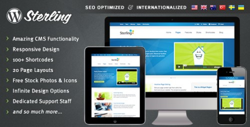 6_Sterling - Responsive Wordpress Theme