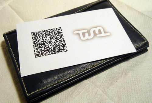 8_QR Code Business Card