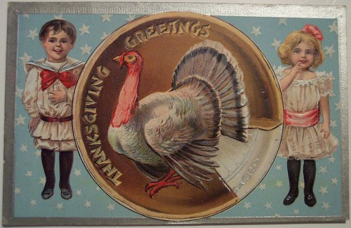 9_Vintage Thanksgiving Day Postcard