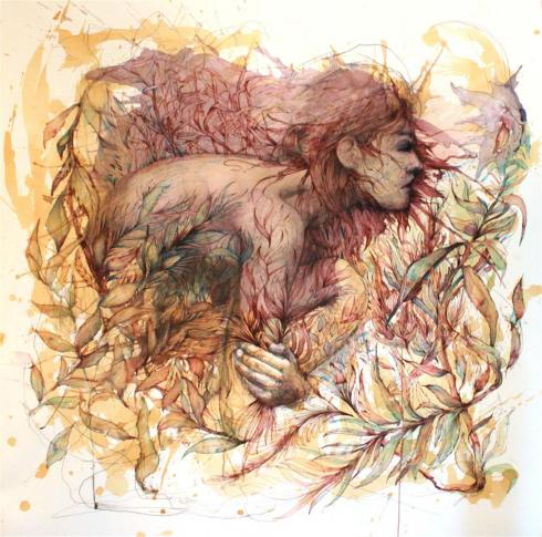 10_Drawings by Carne Griffiths