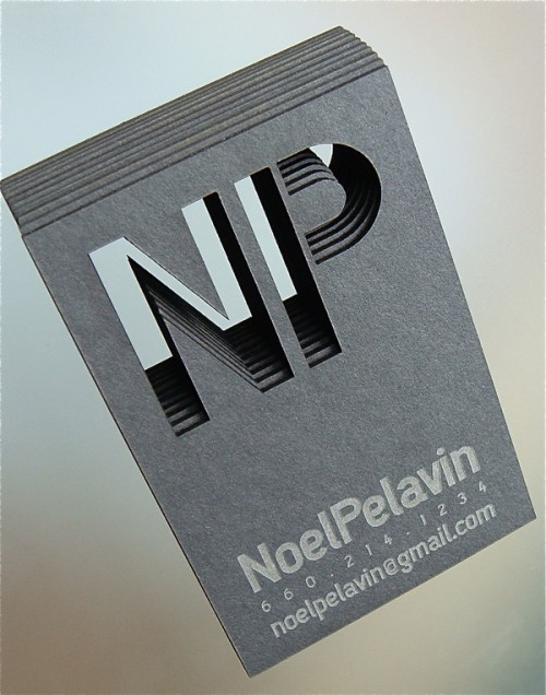 10_Laser Cut Business Card