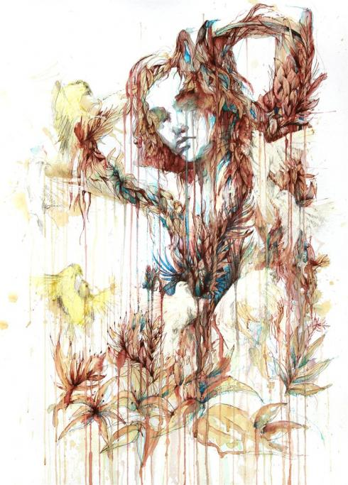 11_Drawings by Carne Griffiths