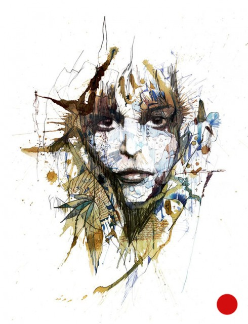 12_Drawings by Carne Griffiths