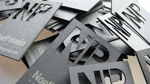 12_Laser Cut Business Card