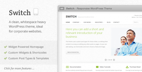 16_Switch - Responsive WordPress Theme