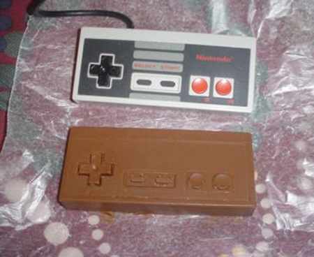 17_Chocolate NES Controller