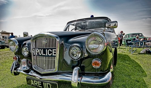 20_Classic Police Car HDR