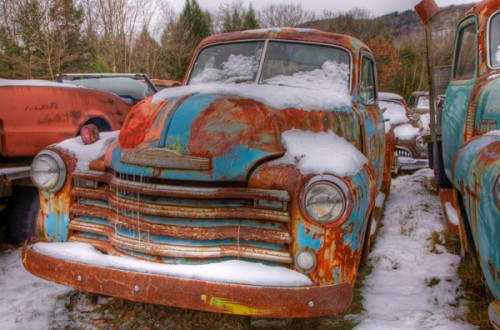 21_Old Car HDR